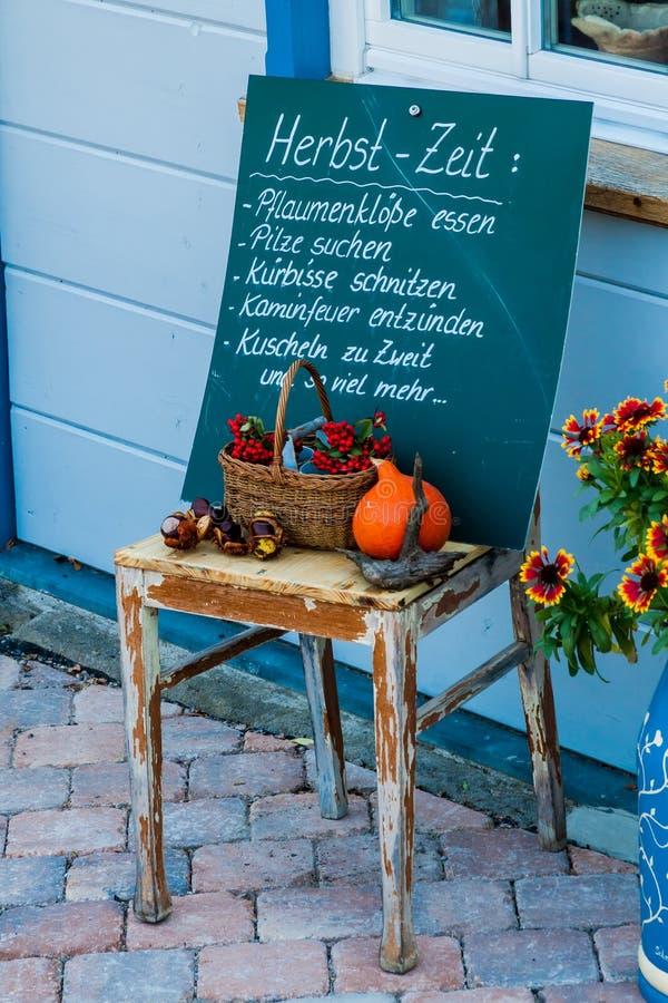 Decoratie voor de herfst royalty-vrije stock afbeelding
