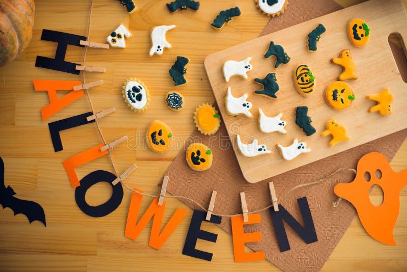 Decoratie voor Halloween stock foto's
