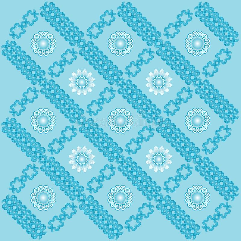 Decoratief Behang. stock foto's