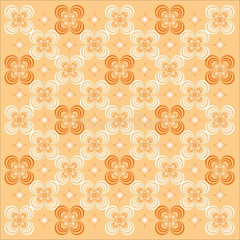 Decoratief Behang. royalty-vrije stock afbeelding