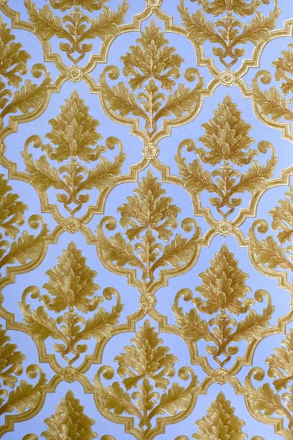 Decoratief behang royalty-vrije stock afbeelding