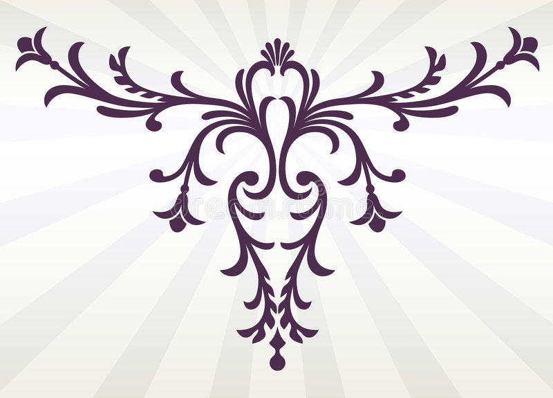 Decoratief bloei royalty-vrije stock afbeeldingen