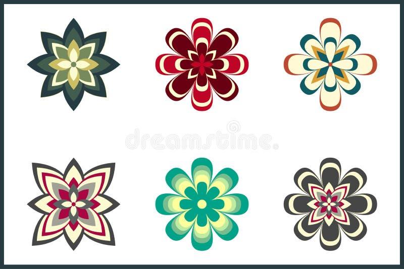 Download Decoratief Bloempak vector illustratie. Illustratie bestaande uit groen - 54080488