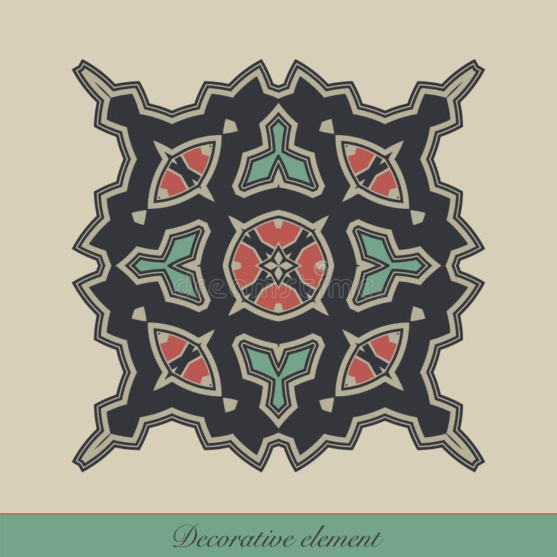 Decoratief element royalty-vrije illustratie