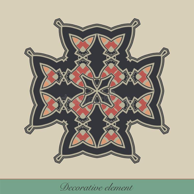 Decoratief element vector illustratie