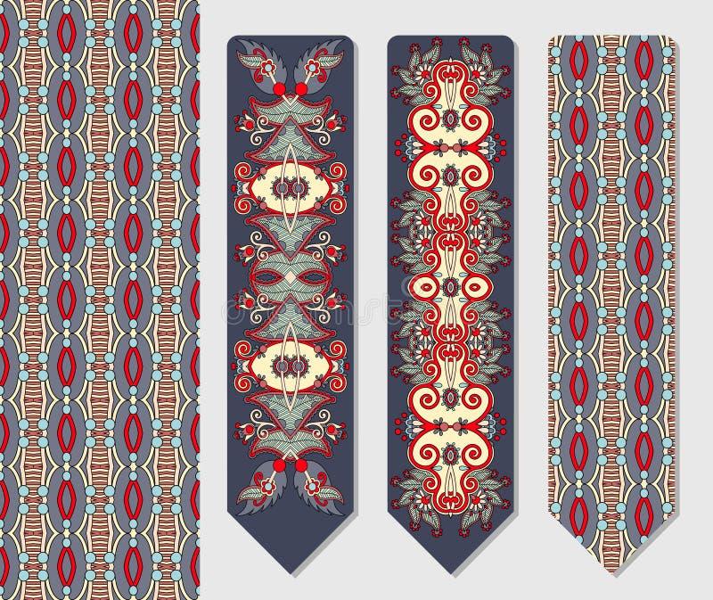 Decoratief etnisch Paisley twee referentie voor royalty-vrije illustratie