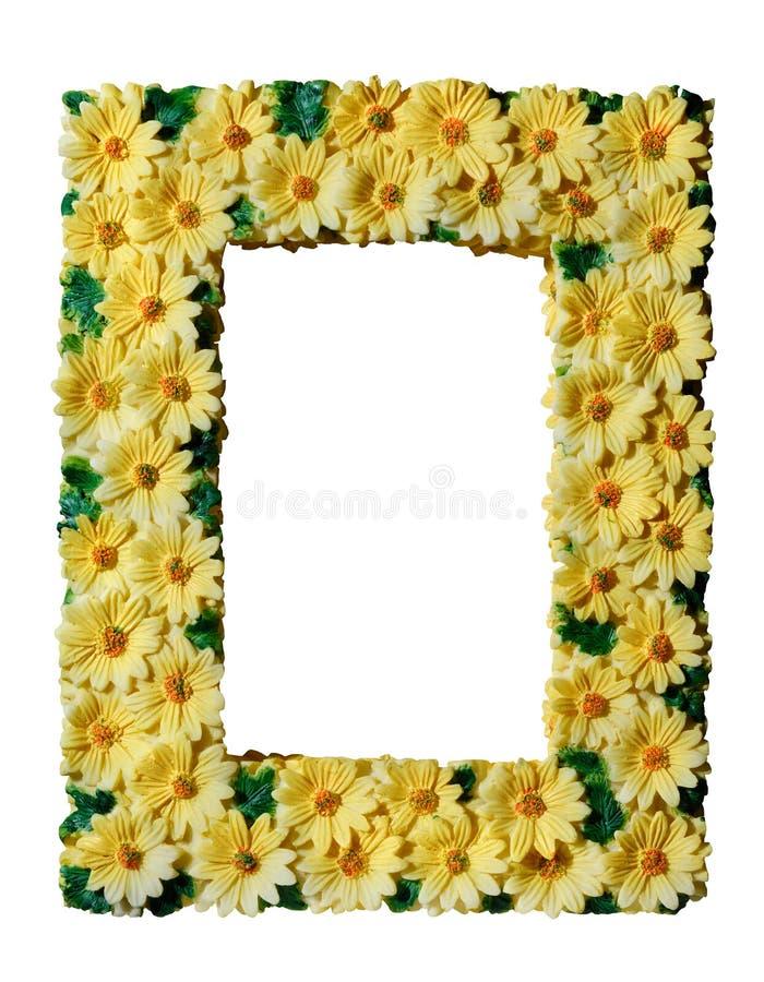 Decoratief fotoframe stock afbeelding