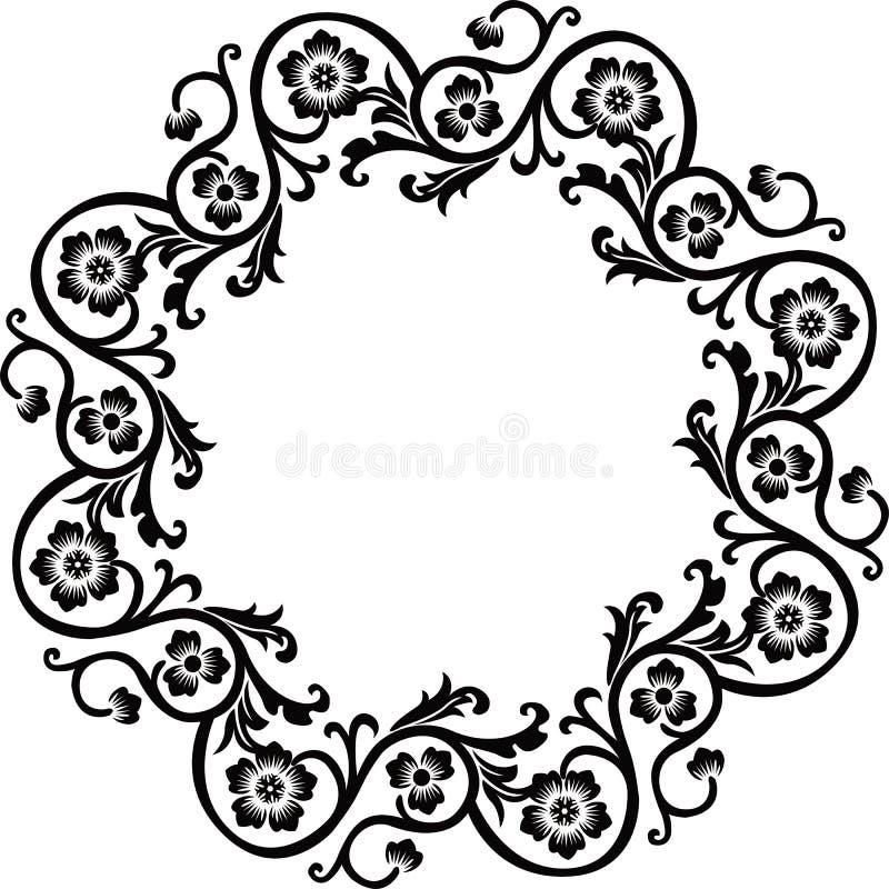 Decoratief frame, vector vector illustratie