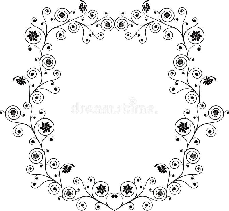 Decoratief frame, vector stock illustratie