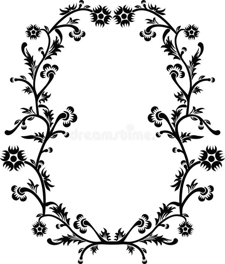 Decoratief frame, vector royalty-vrije illustratie