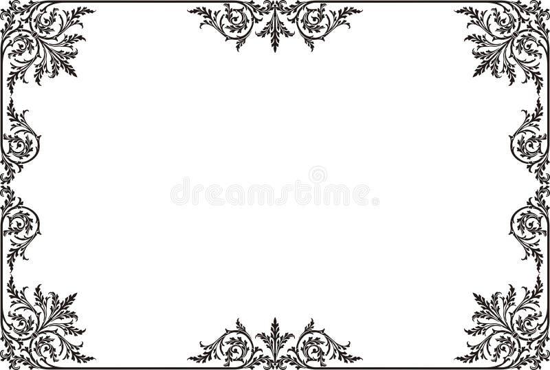 Decoratief ornament royalty-vrije stock foto
