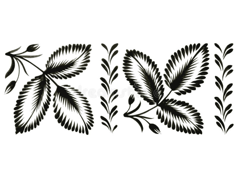 Decoratief ornament vector illustratie
