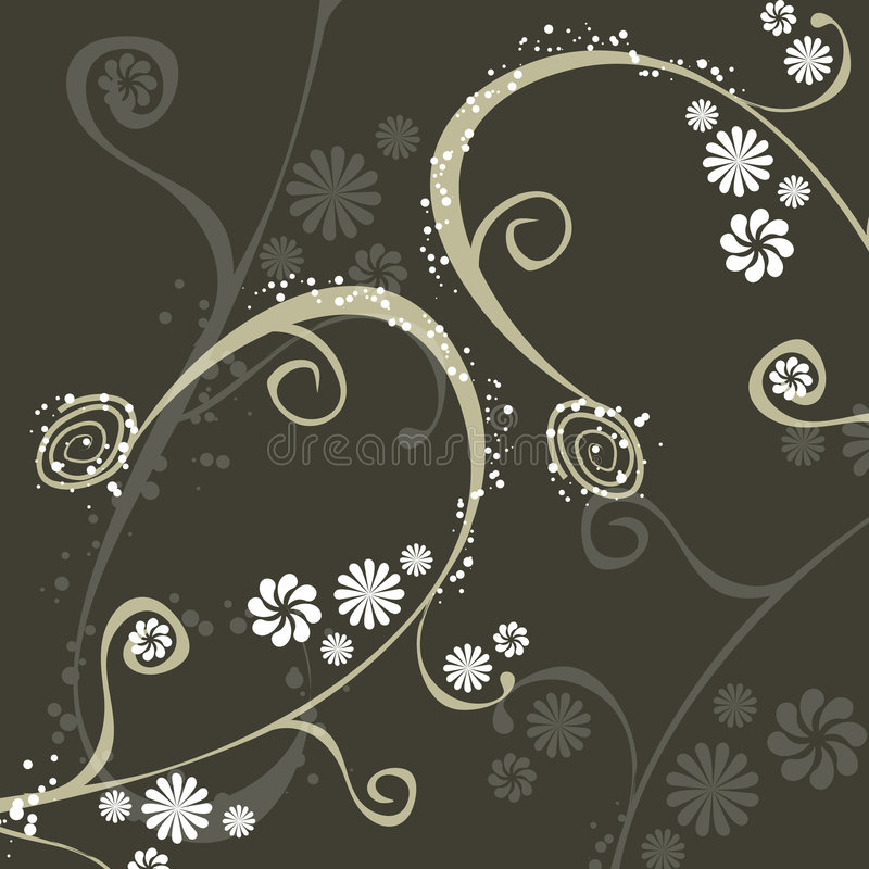 Decoratief ornament royalty-vrije illustratie