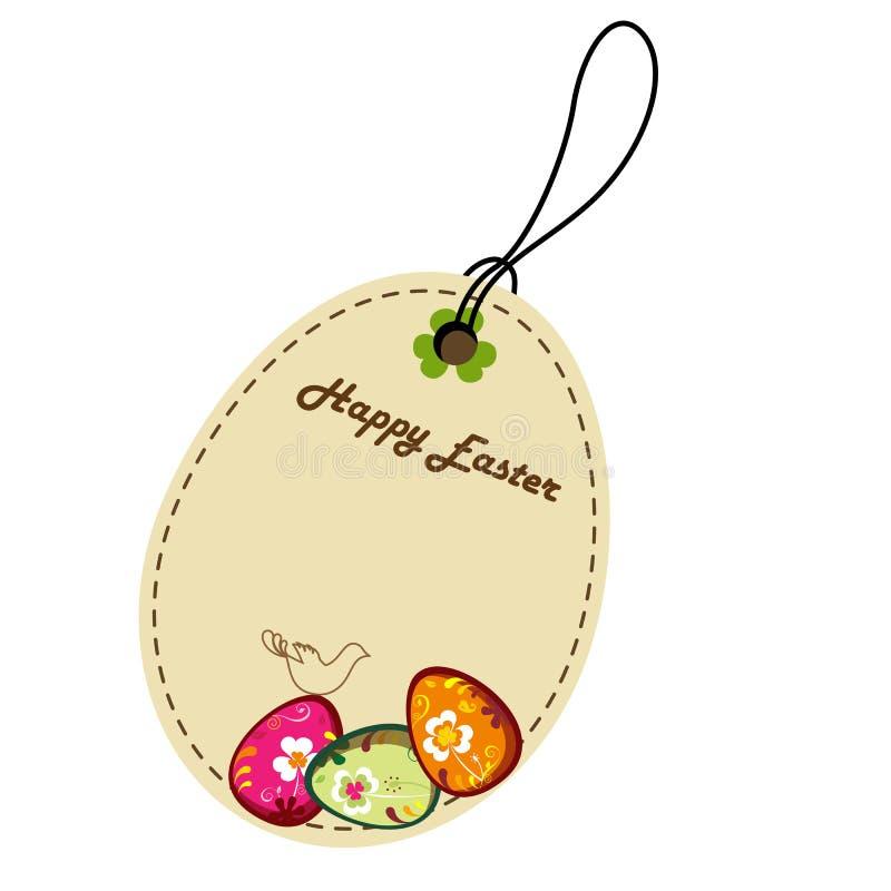 Decoratief Pasen etiket