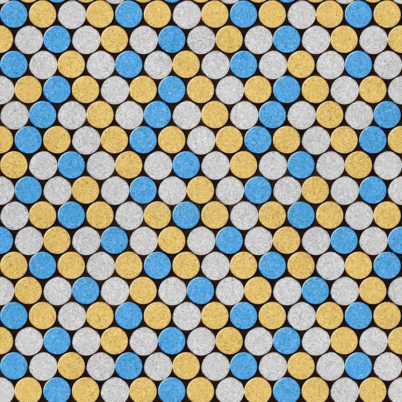 Decoratief patroon van de kurken van wijnflessen - naadloze achtergrond - Behangpapier voor binnenontwerp stock afbeeldingen