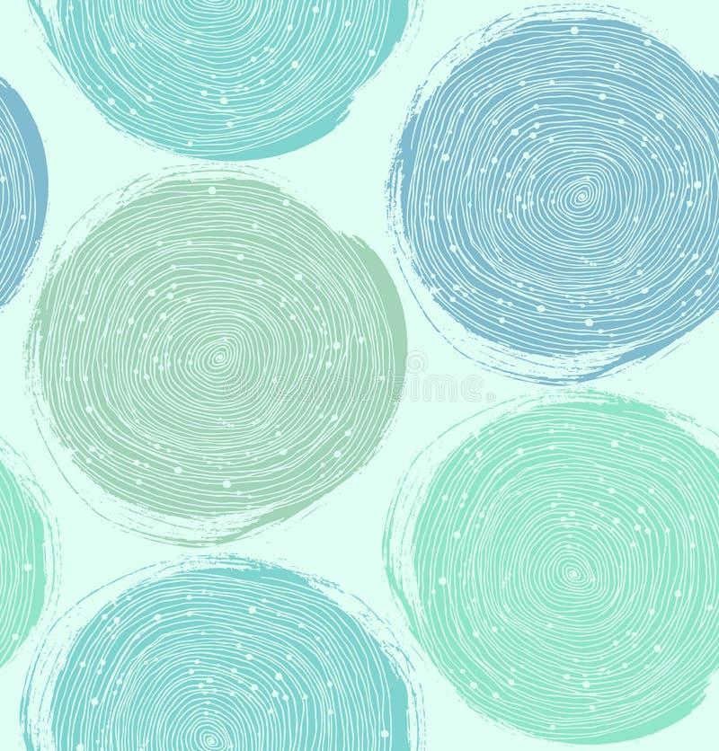 Decoratief verfpatroon Vector naadloze textuur royalty-vrije illustratie