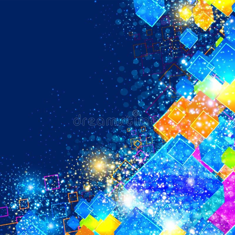 Download Decoratieve achtergrond vector illustratie. Illustratie bestaande uit zwart - 29500725