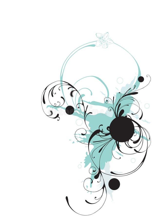 Decoratieve achtergrond stock illustratie