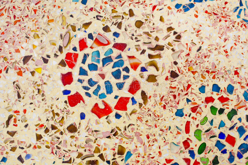Decoratieve achtergrond met kleurrijke mozaïektegels royalty-vrije stock afbeeldingen
