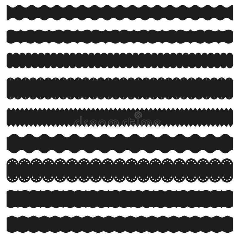 Decoratieve banden vector illustratie