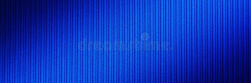 Decoratieve blauwe kleur als achtergrond, gestreepte textuur diagonale gradiënt behang Art Ontwerp stock fotografie