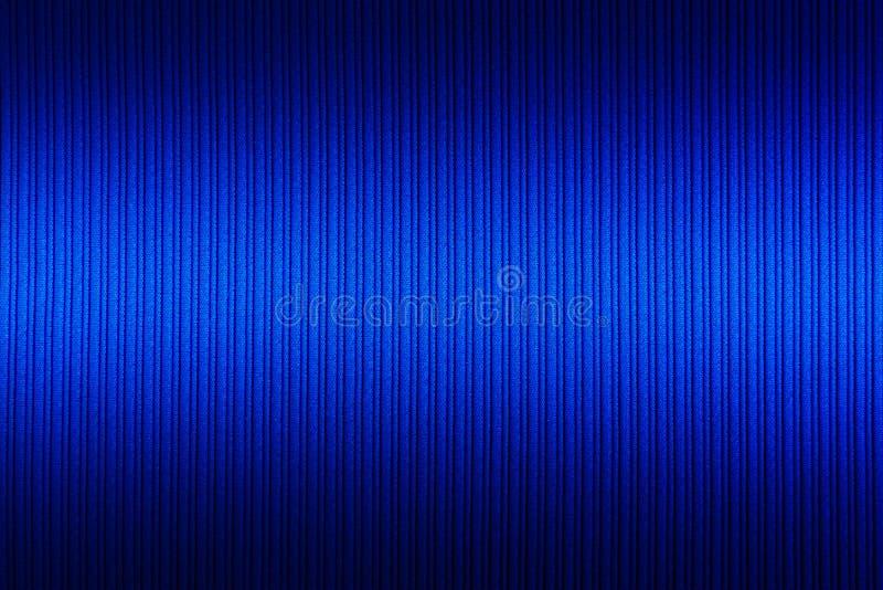 Decoratieve blauwe kleur als achtergrond, gestreepte textuur hogere en lagere gradi?nt behang Art Ontwerp stock afbeelding