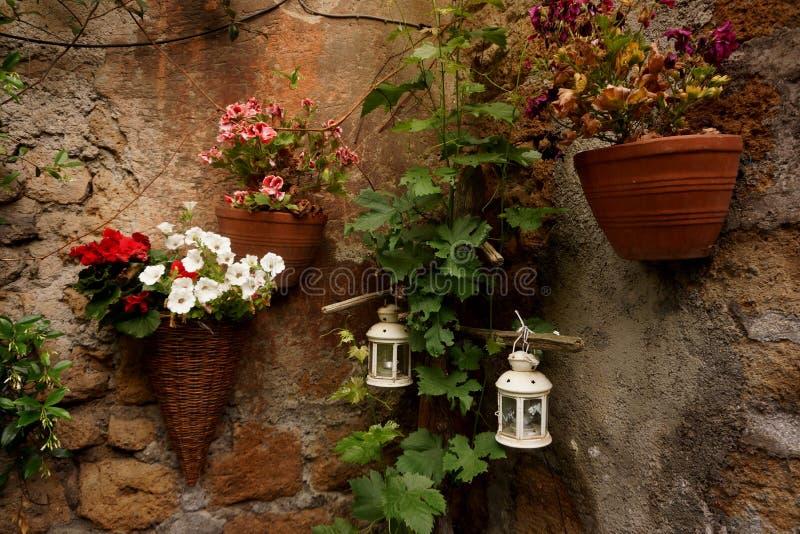 Decoratieve bloemmanden royalty-vrije stock fotografie