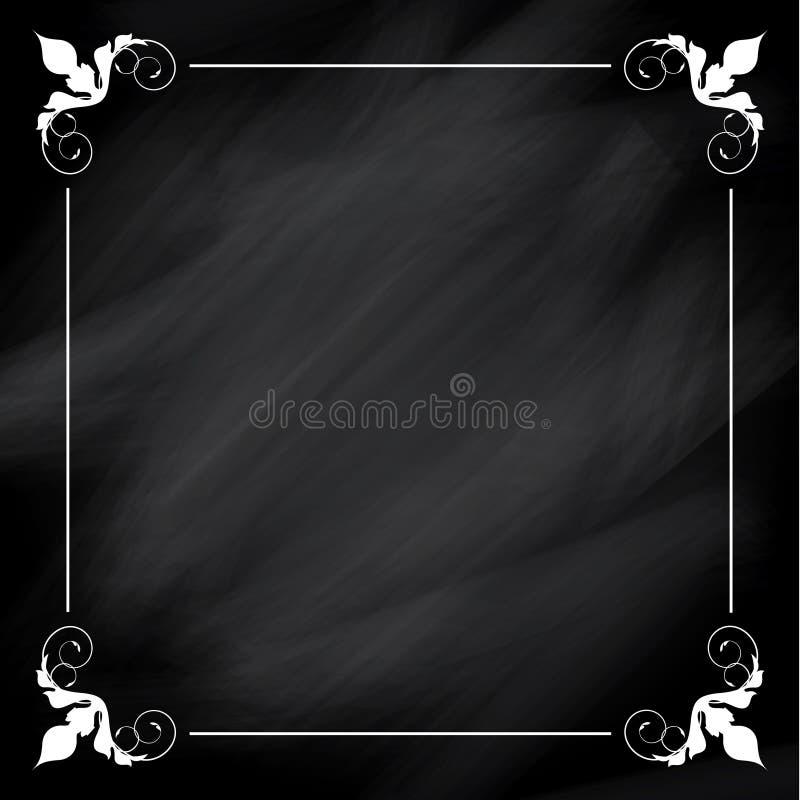 Decoratieve bordachtergrond vector illustratie