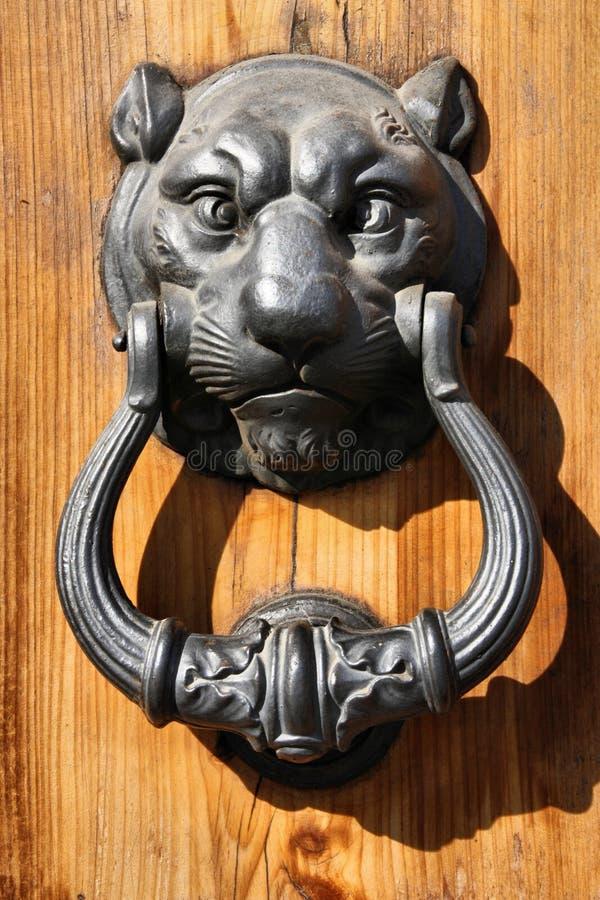 Decoratieve deurkloppers royalty-vrije stock foto's
