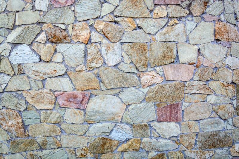 Decoratieve geweven steenmuur royalty-vrije stock afbeelding