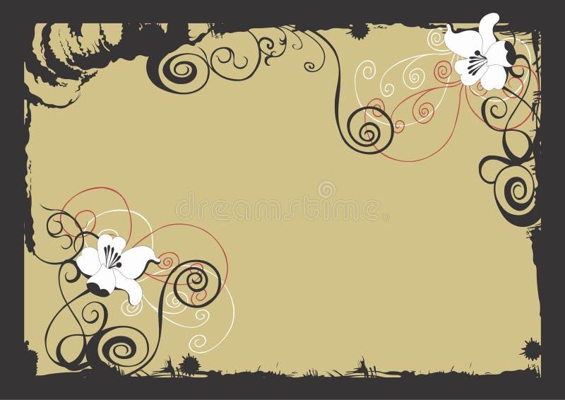 Decoratieve grens vector illustratie