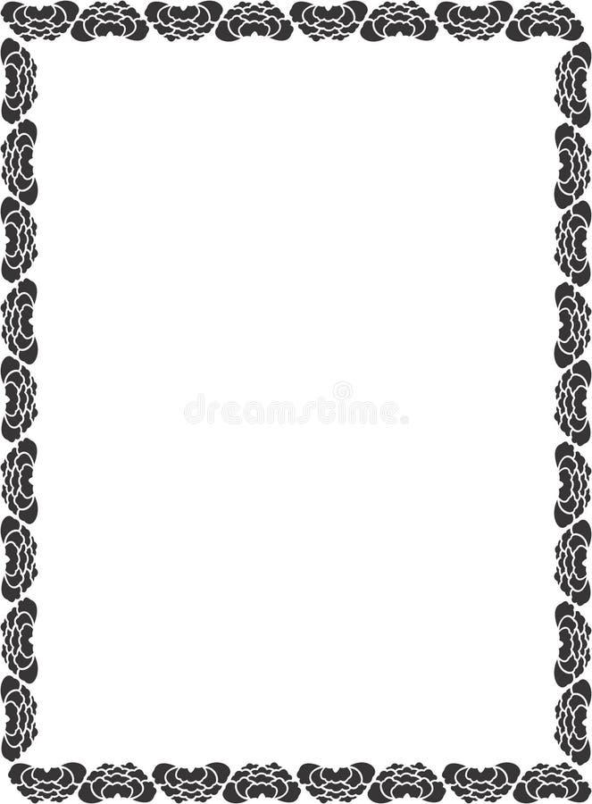 Decoratieve Grens Royalty-vrije Stock Foto