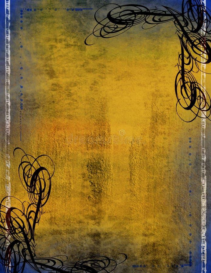 Decoratieve Grenzen stock illustratie