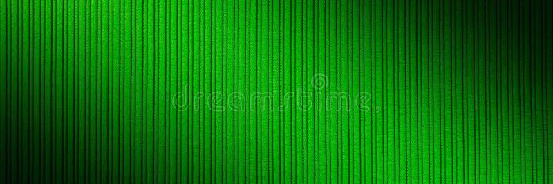 Decoratieve groene kleur als achtergrond, gestreepte textuur, diagonale gradiënt behang Art Ontwerp royalty-vrije stock afbeelding