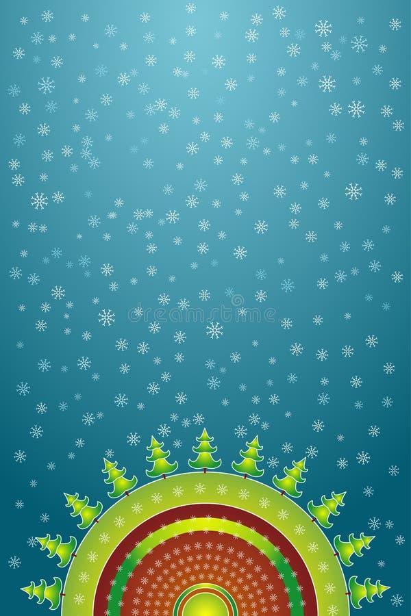 Decoratieve Kerstmis, vector   vector illustratie
