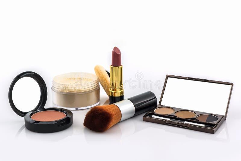 Decoratieve Kosmetische reeks stock afbeeldingen