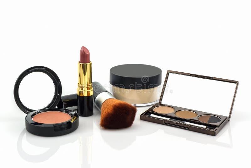 Decoratieve Kosmetische reeks stock afbeelding