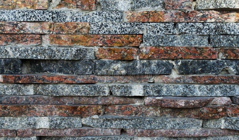 Decoratieve marmeren tegels, mozaïek op een muur royalty-vrije stock afbeeldingen