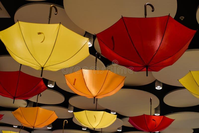 Decoratieve paraplu's voor decoratie stock foto's