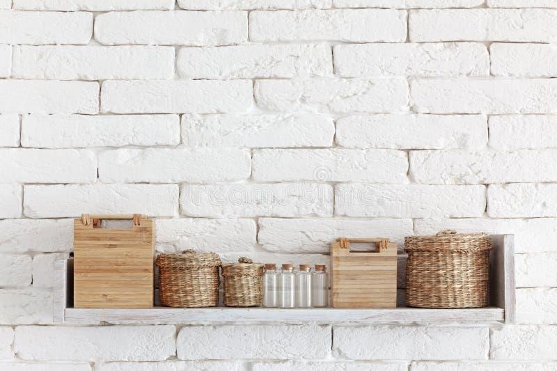 Decoratieve plank royalty-vrije stock afbeeldingen