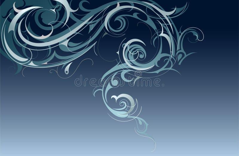 Decoratieve rook vector illustratie