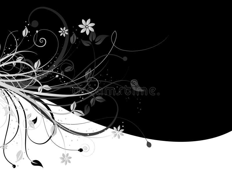 Decoratieve samenvatting royalty-vrije illustratie