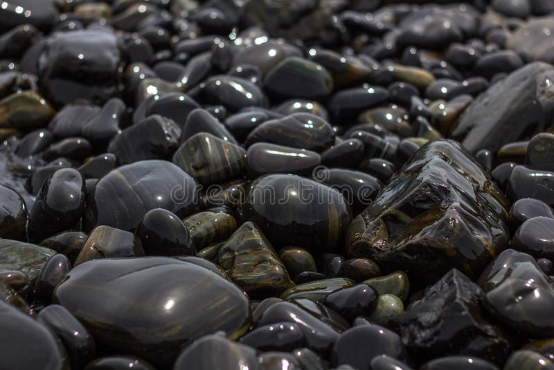 Decoratieve stenen stock foto