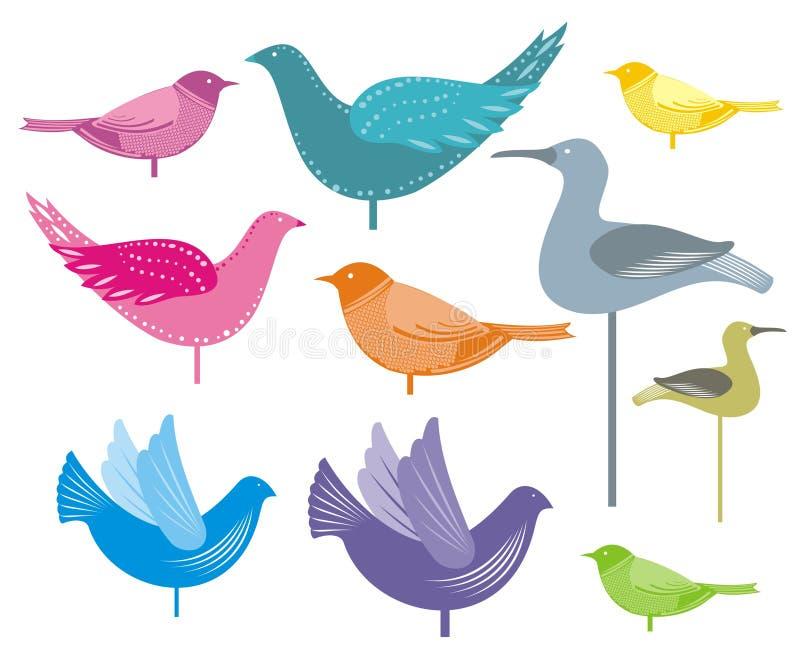 Decoratieve vogels
