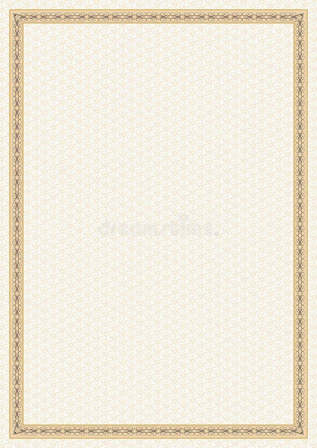 Decoratieve vorm royalty-vrije stock foto's