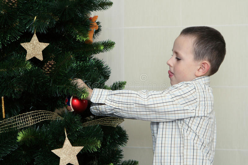 Download Decorating christmas tree stock photo. Image of bulb - 11324416