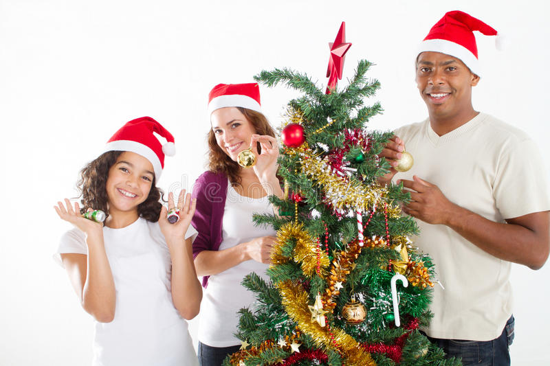 Download Decorating Christmas tree stock photo. Image of decoration - 16646420
