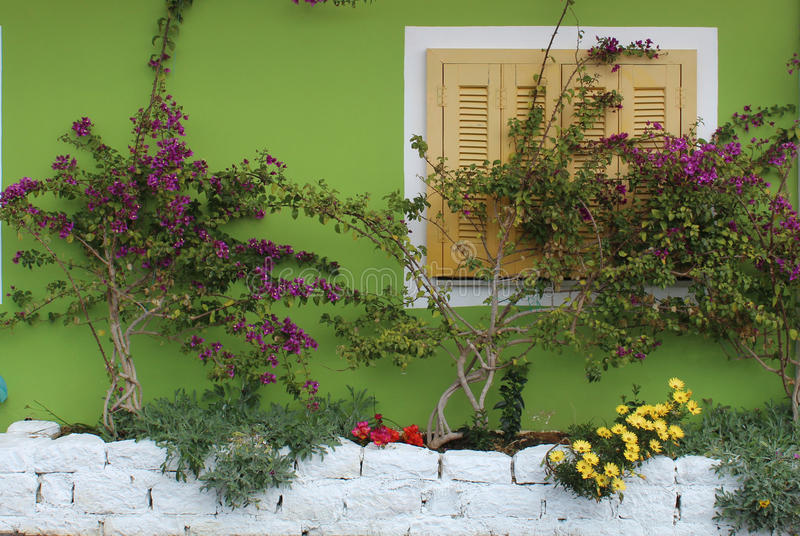 Download Decorating Outside Wall Stock Image. Image Of Color, Decoration    68411233
