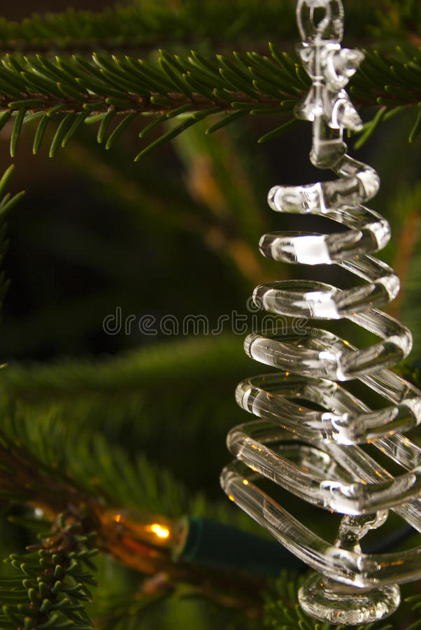 Download Decoration stock image. Image of golden, snow, tree, green - 22496963