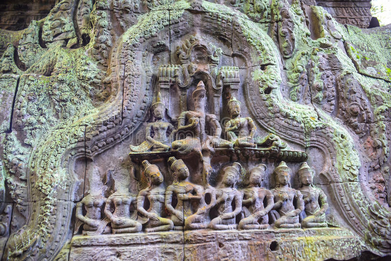 Decoration arts on the wall. Hinduism decoration arts on the wall stock images